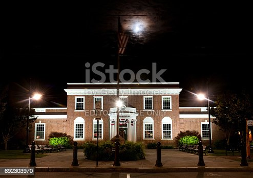 istock The facade of the JFK museum in Hyannis, Mass. 692303970