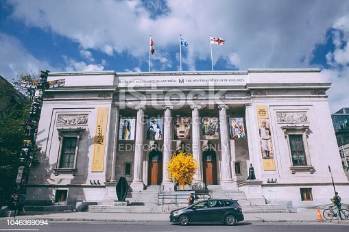 istock The Facade of the Montreal Museum of Fine Art 1046369094