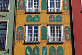 istock The facade of the restored Gdask patrician house in the Long Street 1334807325