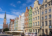 istock The facades of the restored Gdask patrician houses in the Long Market 1329091168
