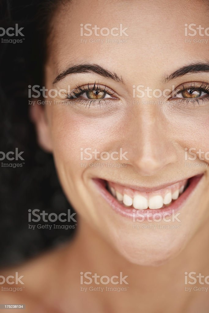 The face of beauty royalty-free stock photo