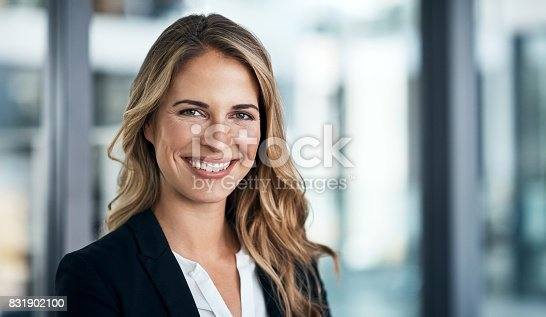 istock The face of corporate excellence 831902100