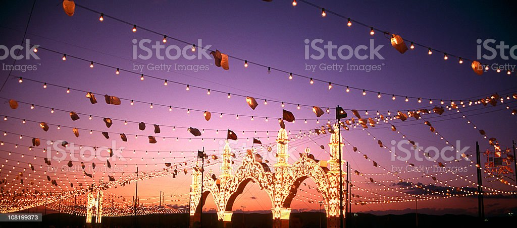 La Feria royalty-free stock photo