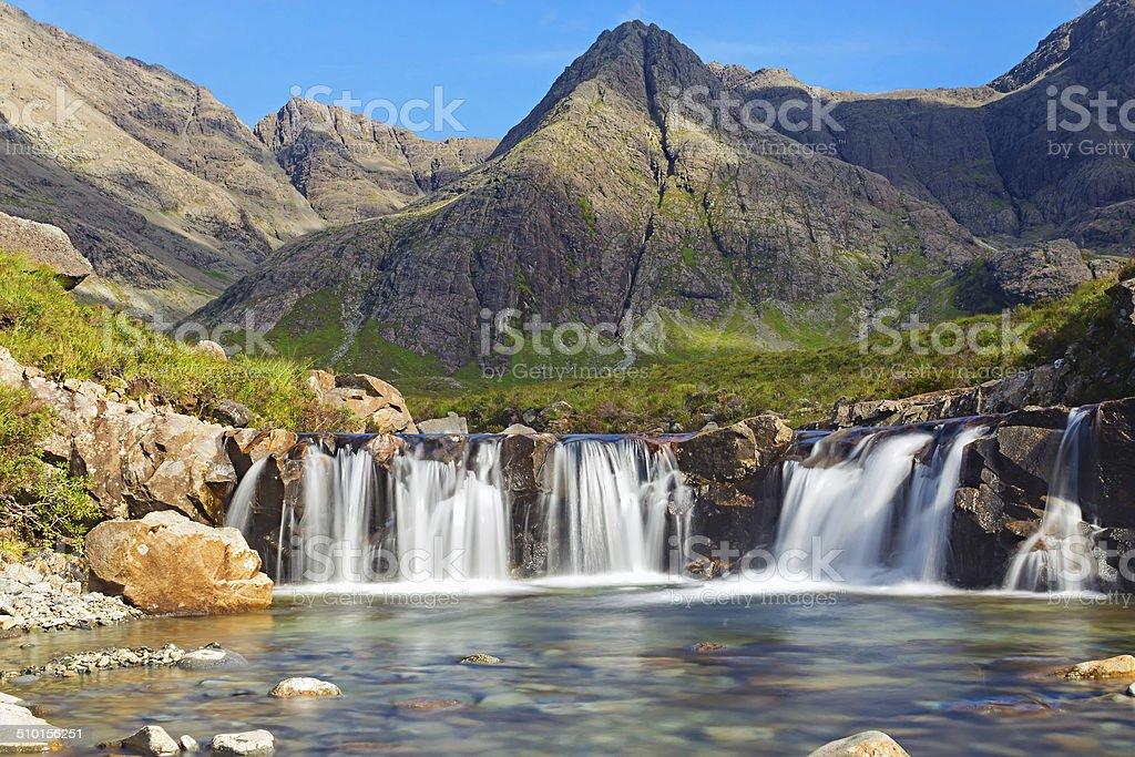 The Fairy Pools, Isle of Skye stock photo