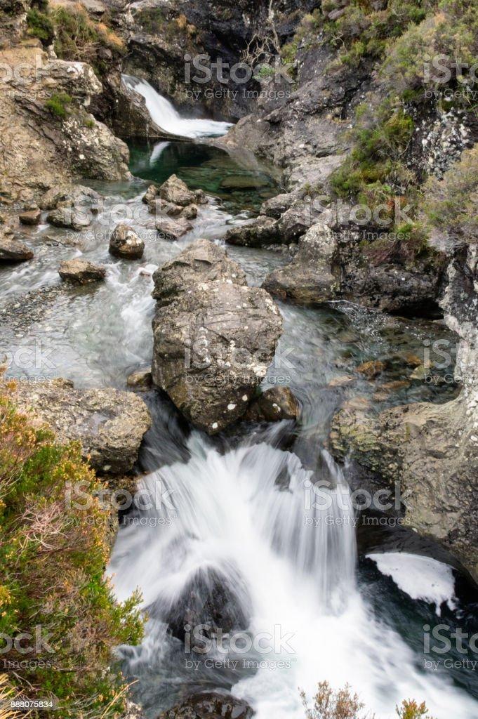 Peri havuzları stok fotoğrafı