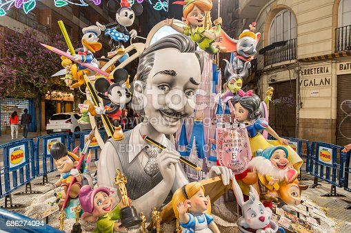 istock The Fallas of Valencia, Spain 686274094