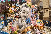 The Fallas of Valencia, Spain