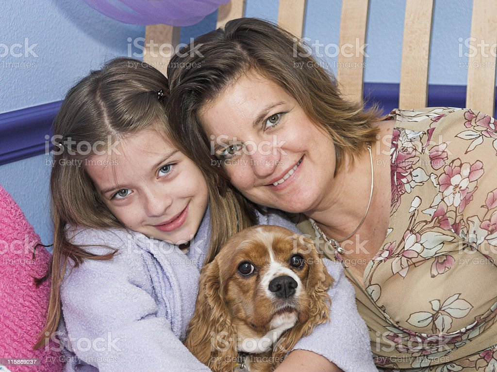 The Family Pet royalty-free stock photo