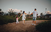istock The family walks in nature 1267415580