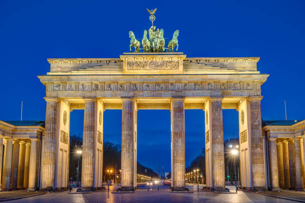 Das berühmte Brandenburger Tor – Foto