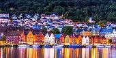 istock The famous Bryggen - Bergen, Norway. 1085883234