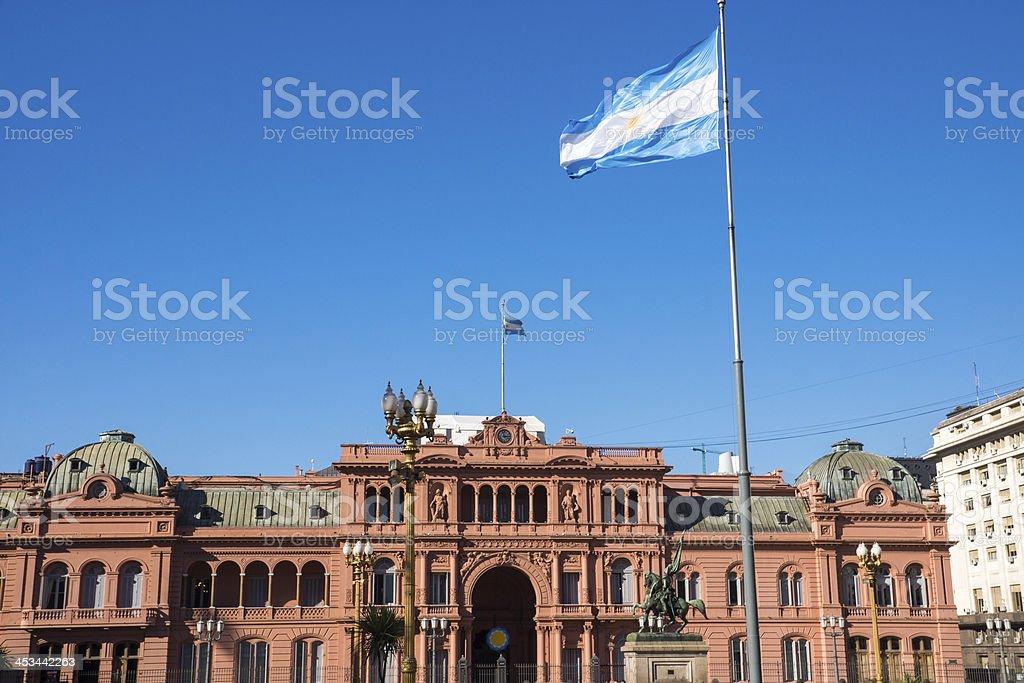 The famous Casa Rosada stock photo