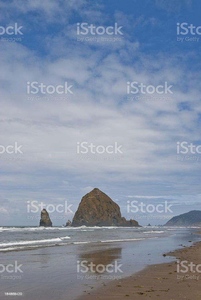 Haystack Rock - Royalty-free Beach Stock Photo