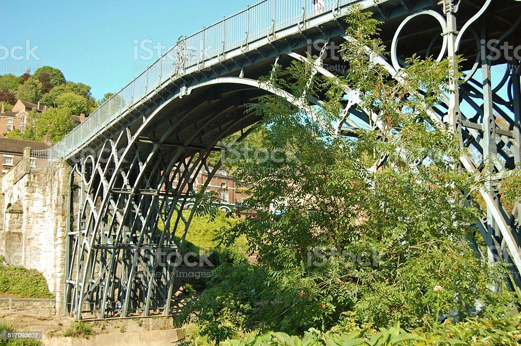 the famous Ironbridge stock photo