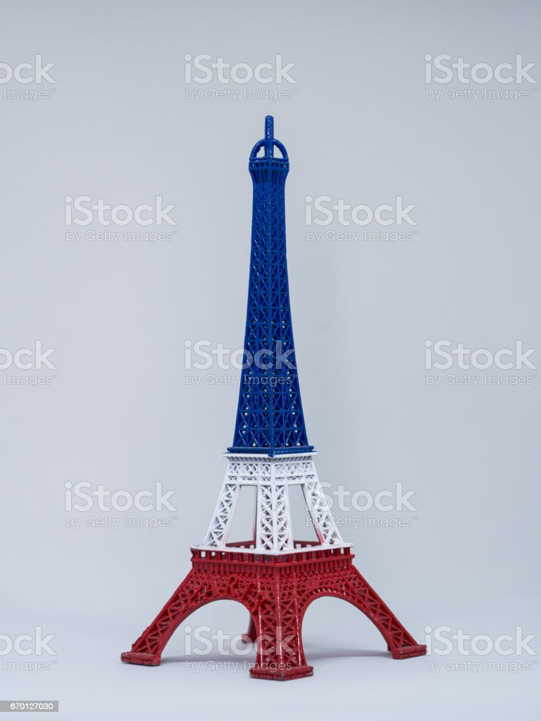 The famous landmark in Paris or France, Effel Tower. stock photo
