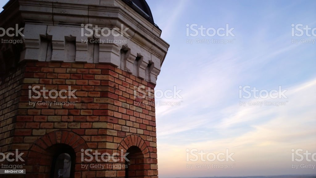 The famous Millennium tower in Zemun in Belgrade Serbia stock photo
