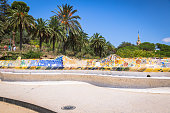 istock The famous park Guell in Barcelona, Spain 638593762