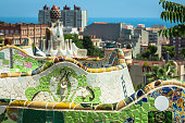 istock The famous park Guell in Barcelona, Spain 638593850