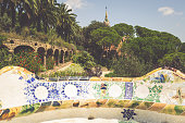 istock The famous park Guell in Barcelona, Spain 638594174