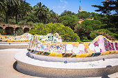 istock The famous park Guell in Barcelona, Spain 638695658