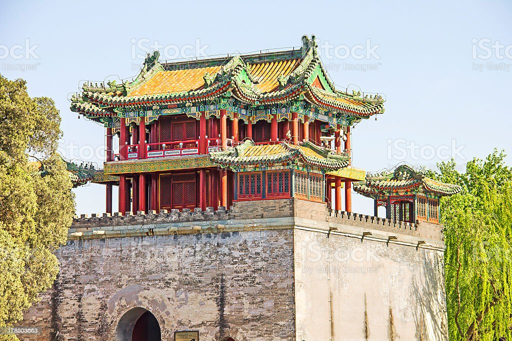 The famous Summer Palace, Beijing, China royalty-free stock photo