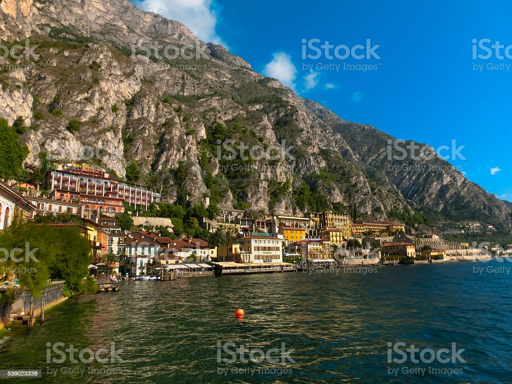 The famous Village of Limone sul Garda, Italy - Photo