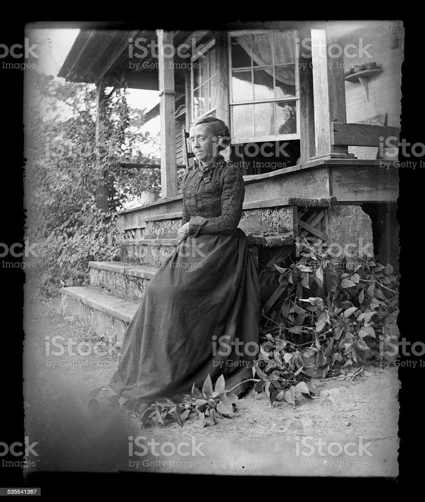 Die Farmer's Frau, ca. 1890 – Foto