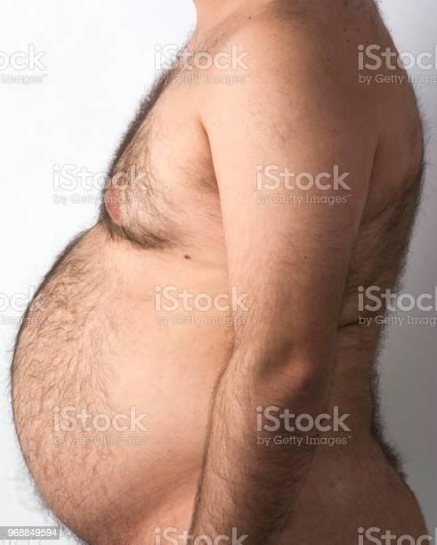 Der Dicke Mann Bauch Stockfoto und mehr Bilder von Abnehmen