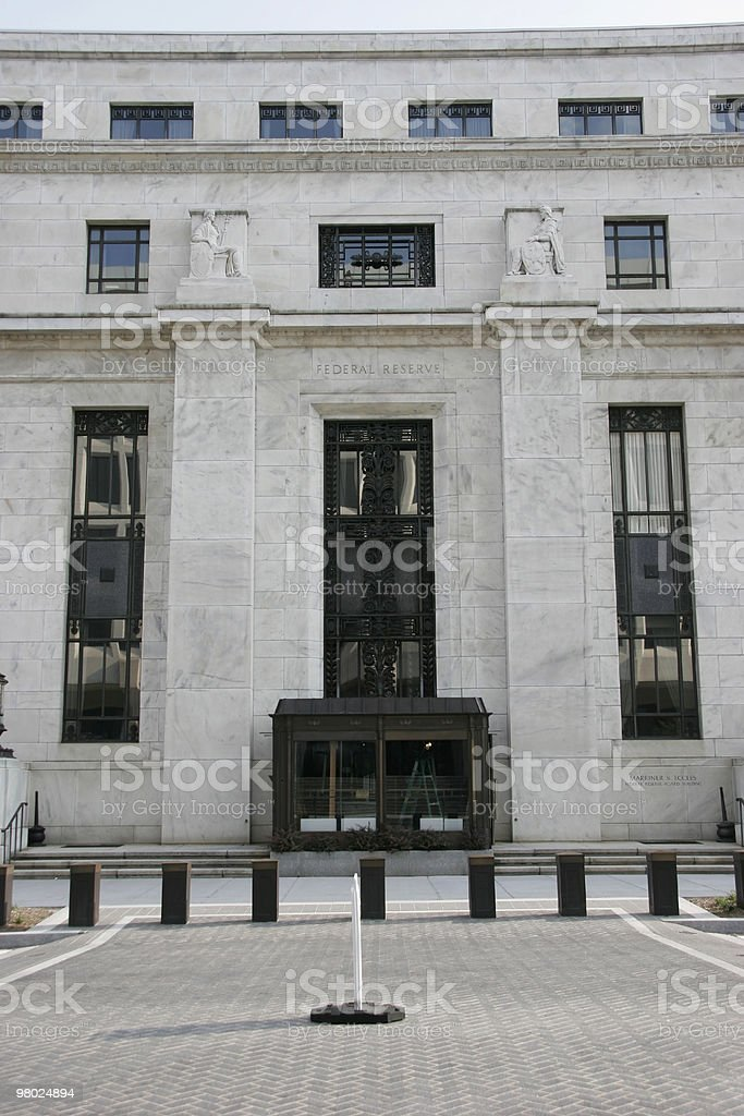 The Federal Reserve royalty-free stock photo
