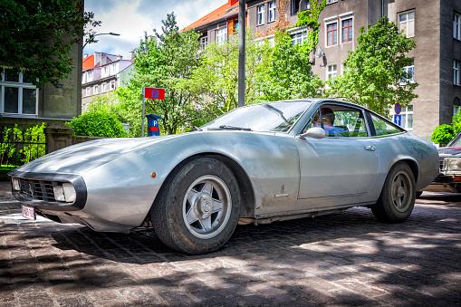 Der Ferrari 365 Gtc 4 Stockfoto Und Mehr Bilder Von Alt Istock