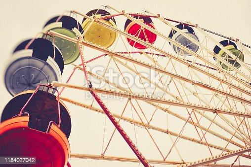 Arts Culture and Entertainment, Ferris wheel, vintage, Georgia,