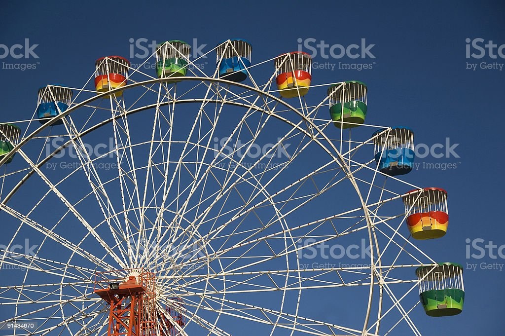 The Ferris Wheel royalty-free stock photo