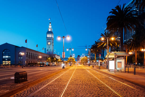 The Ferry Building of San Francisco, California, USA