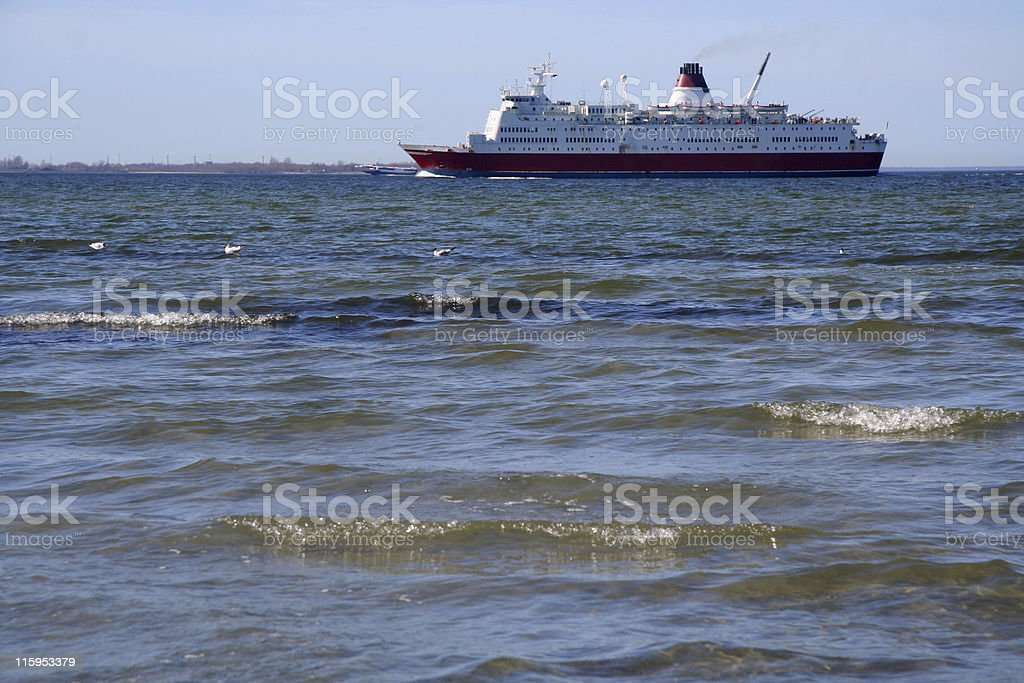 The Ferryboat comes home royalty-free stock photo
