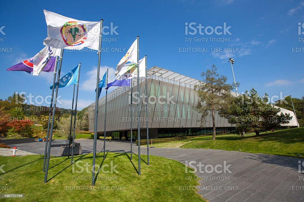 The FIFA headquarter in Zurich stock photo