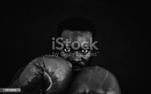 Boxing, sport, Fighter, dark, art, close-up, portrait,