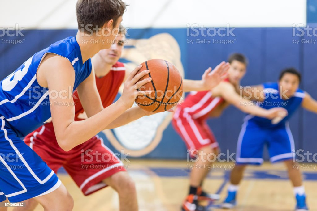 The final minutes... stock photo