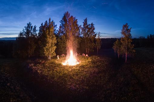 The fire of Midsummer