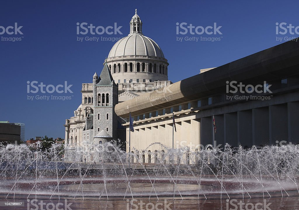 The First Church of Christ, Scientist royalty-free stock photo