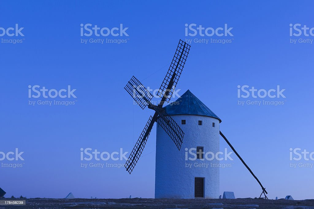 The first light into Spain royalty-free stock photo