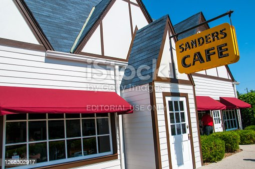 Harland Sanders Café and Museum, the birthplace of Kentucky Fried Chicken (though not sold as the KFC/Kentucky Fried Chicken brand at the time) is located in North Corbin. The restaurant and accompanying museum are popular with tour groups travelling along Interstate 75.