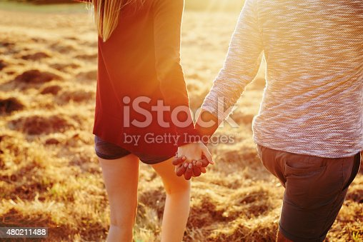 istock The first time they held hands... 480211488