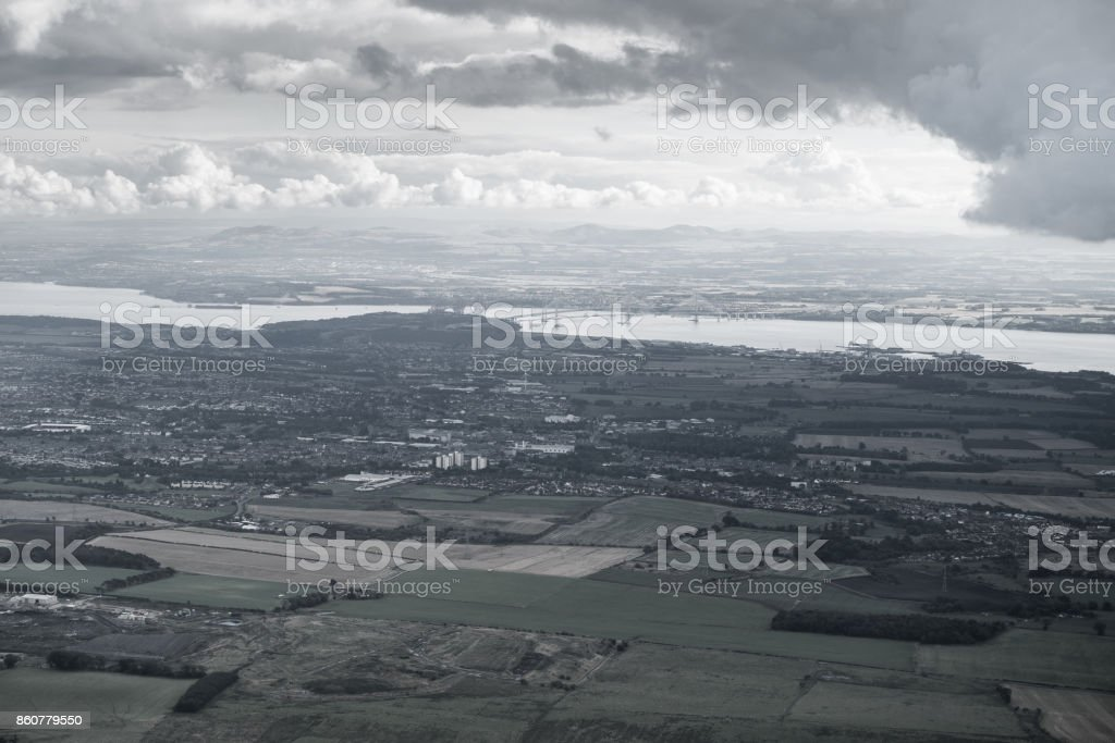 The Firth of Forth stock photo