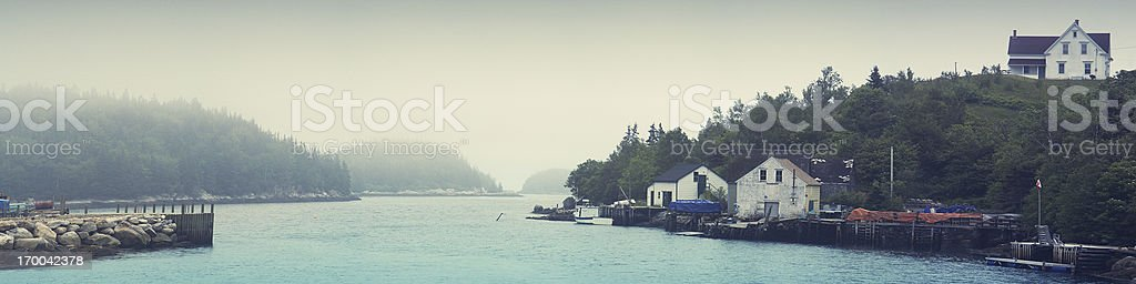 The Fisherman's Home royalty-free stock photo