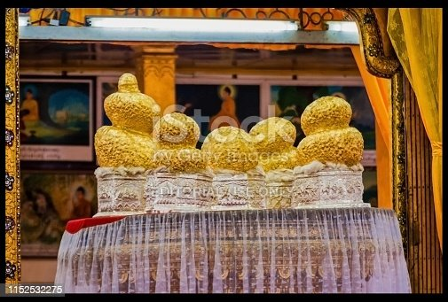 One of the famous principal shrines in Myanmar. this pagoda houses five small Buddha images.