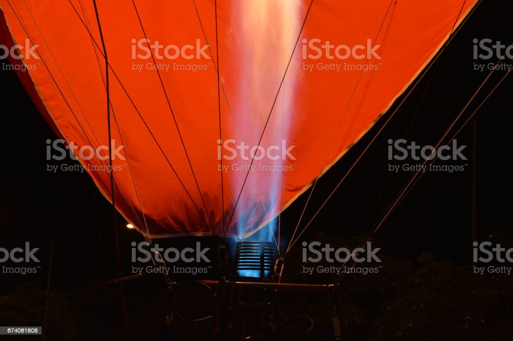The flames royalty-free stock photo