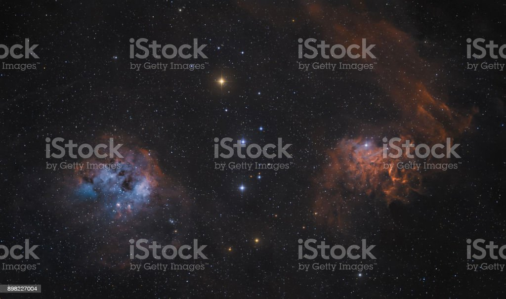 Der Flaming Star Nebel im Sternbild Auriga – Foto