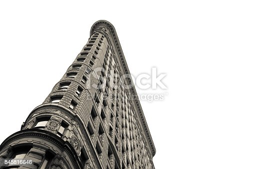 The Flatiron Building in Manhattan, New York City