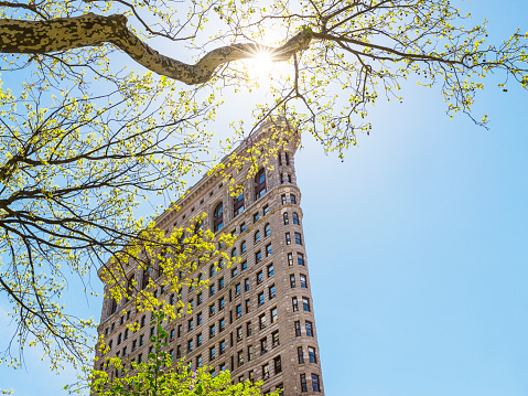 The Flatiron Building, New York, NY