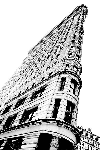 The Flatiron Building stock photo